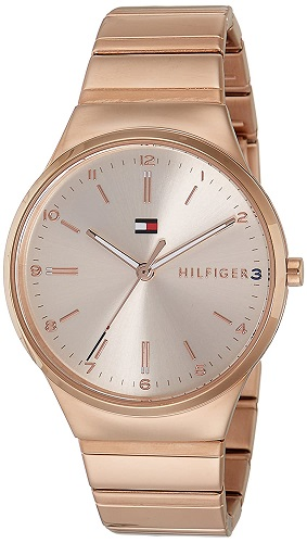 Tommy Hilfiger Analog Rose Gold Dial Watches for Women TH1781799