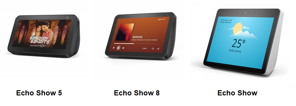 Best Amazon Echo Show Devices in India