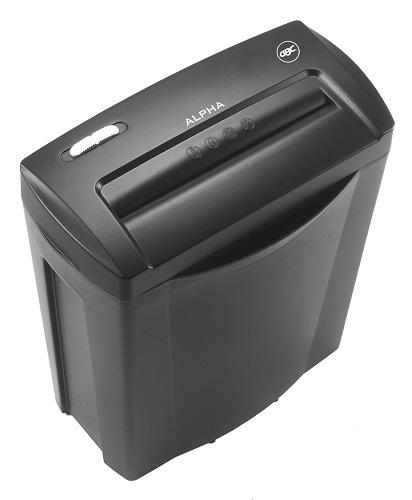GBC-Alpha-card-paper-shredder